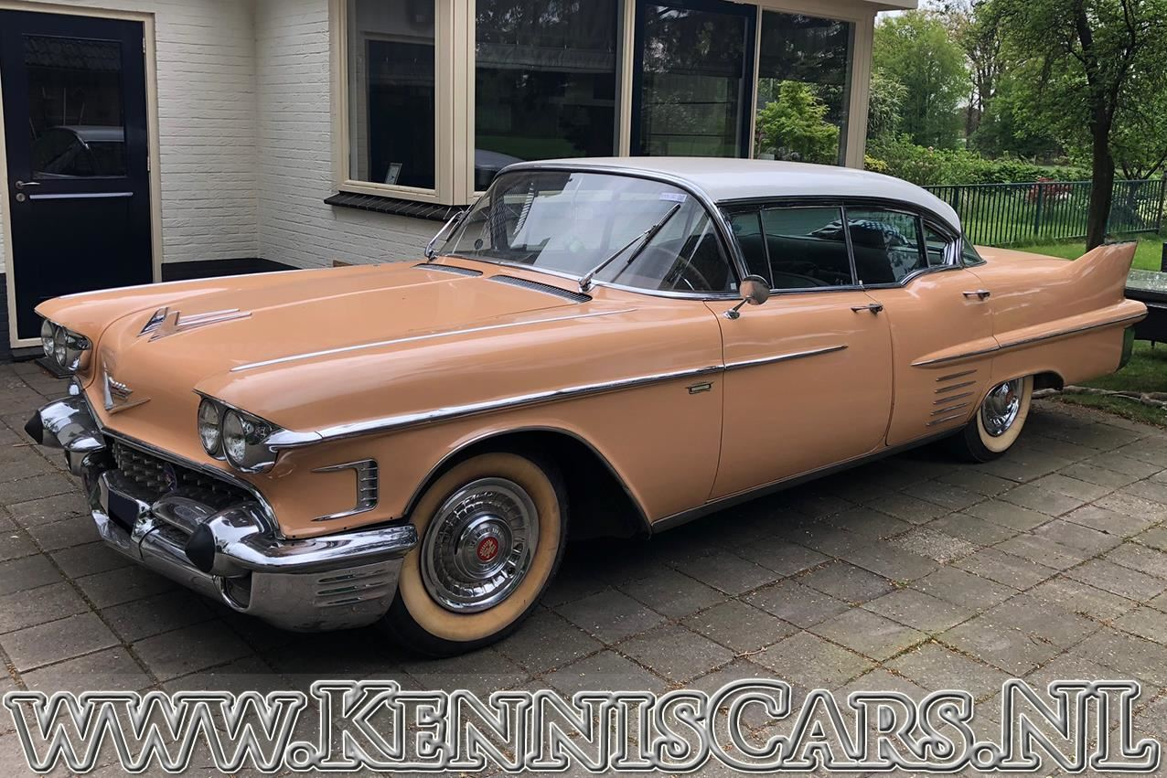 Cadillac 1958 Sedan De Ville occasion - KennisCars.nl