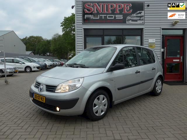 Renault Scénic 1.6-16V Authentique Basis -100.400KM!!UNIEK-LPG-G3-AIRCO-CRUISE-TREKHAAK-