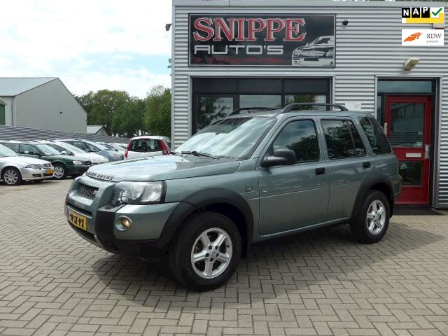 Land Rover Freelander Station Wagon 1.8 S Summit -LEER/ALCANTARA-AIRCO-TREKHAAK2000KG-