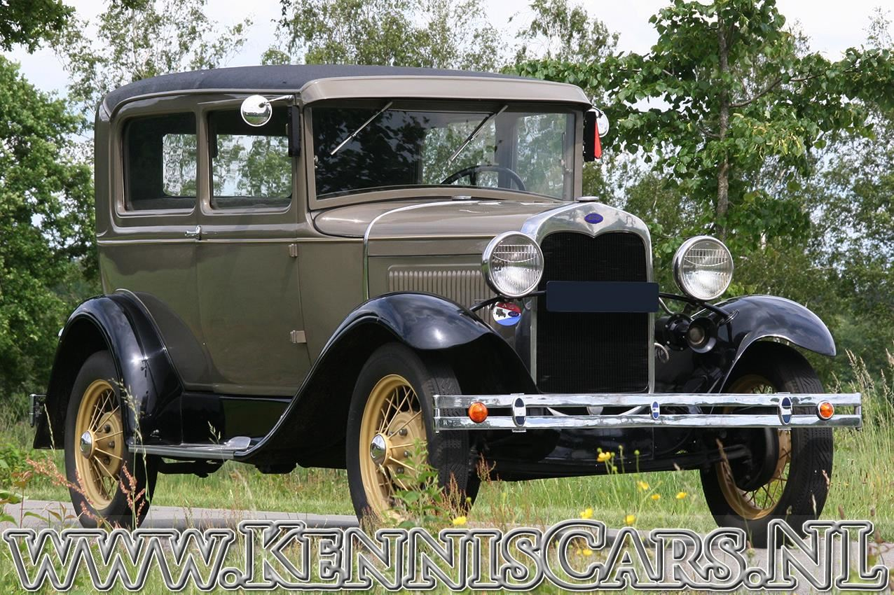 Ford 1930 A Tudor occasion - KennisCars.nl