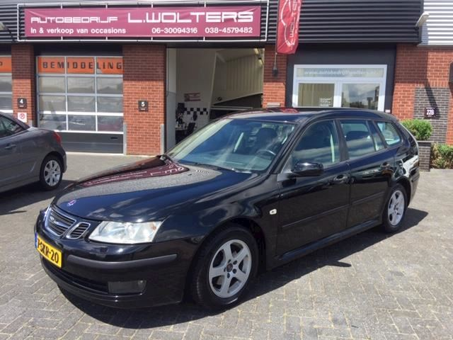 Saab 9-3 Sport Estate 1.9 TiD Linear Business airco xenon cruis leder trekhaak