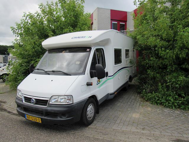 Chausson Welcome 85 semi integraal vast bed 2003 fiat 2.8Jtd