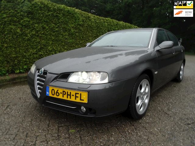 Alfa Romeo 166 2.4 JTD Business Edition in topstaat!!!!