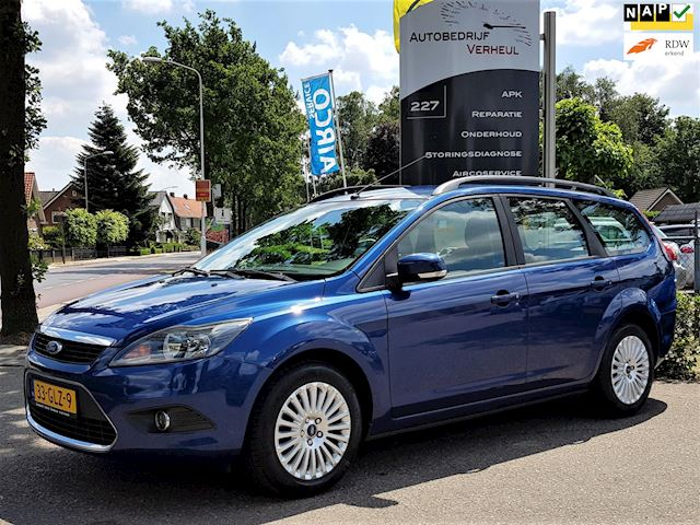 Ford Focus Wagon 1.6 Titanium Navi Clima Cruise Trekhaak Dealerauto Boekjes Nap