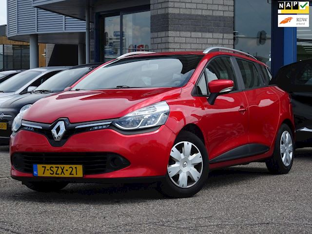 Renault Clio Estate 0.9 TCe Expression FULL-MAP NAVI AC MULTI-STUUR CRUISE-CONTROLE MULTI-STUUR CHROOM