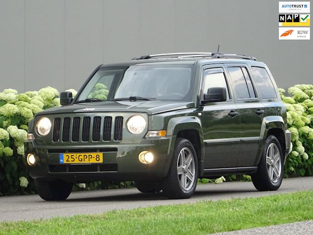 Jeep Patriot 2.4 Limited Sport >> LPG G3 GAS << NL-Auto Navigatie