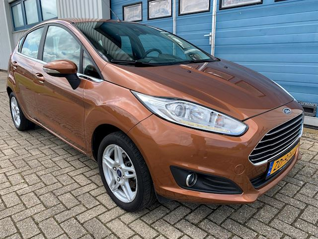 Ford Fiesta 1.0 Titanium NETTE AUTO,AIRCO,RIJDT GOED,PDC,LED,BLUETOOTH.