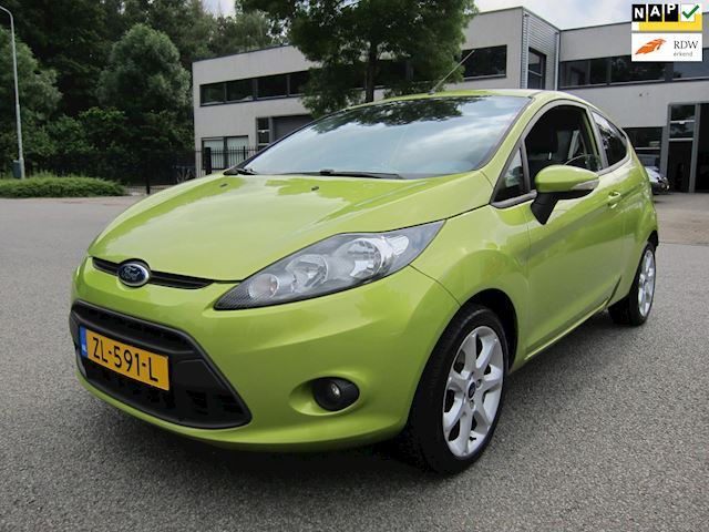 Ford Fiesta 1.25 S-Edition ST SPOILER 16 INCH LMV PRIVACY DISTR. VERVANGEN!!