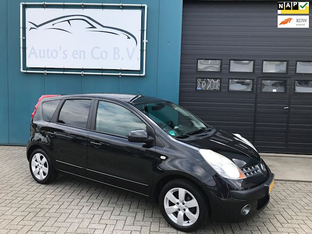 "Nissan Note 1.4 First Note 2006 Airco Stuurbekr 16""Lm velgen NL auto NAP"