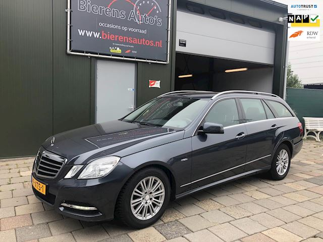 Mercedes-Benz E-klasse Estate 200 CDI Edition Sport Avantgarde (Aut/Navi/Led) 2012