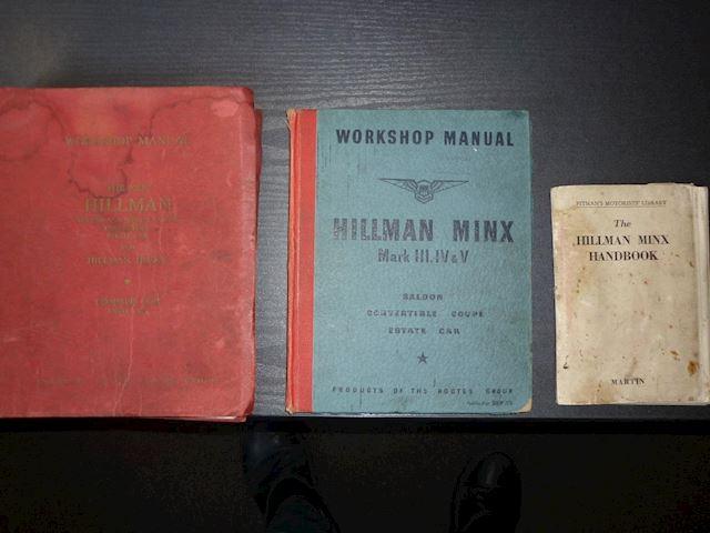 Hillman Minx MK IV 1949