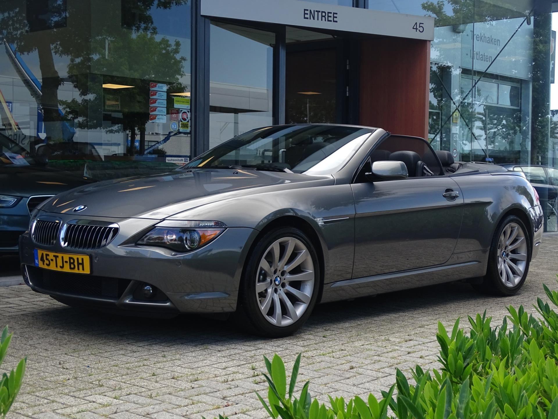BMW 6-serie Cabrio occasion - Autobedrijf van Gorkum