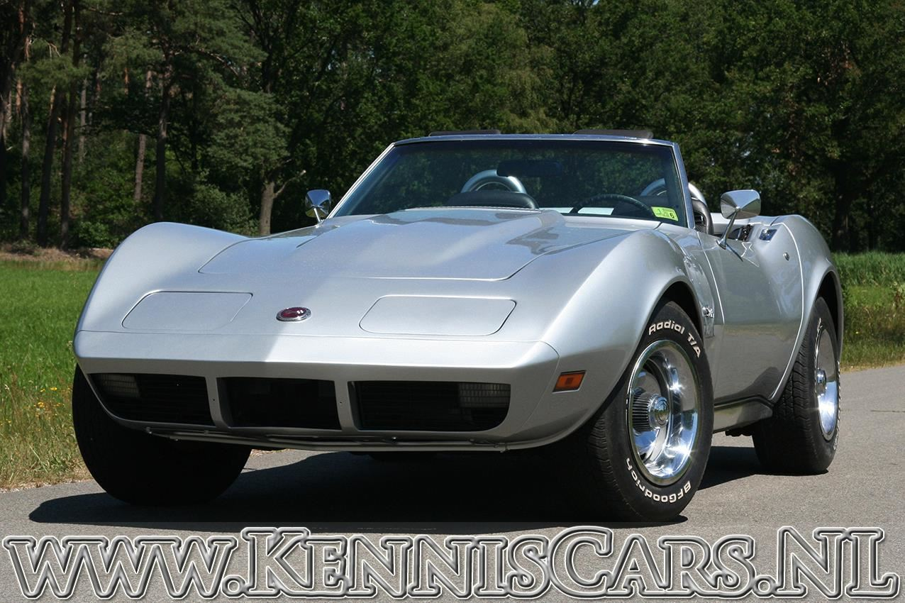 Chevrolet Corvette 1974 Convertible occasion - KennisCars.nl