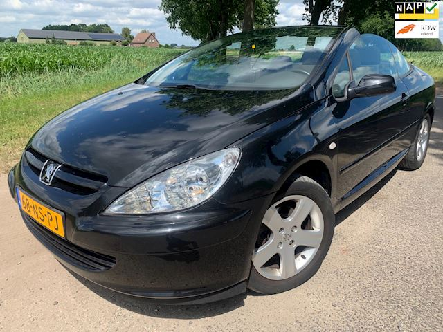 Peugeot 307 CC 2.0-16V Full options