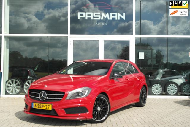 Mercedes-Benz A-klasse 180 CDI Ambition AMG Pakket, Black Optic