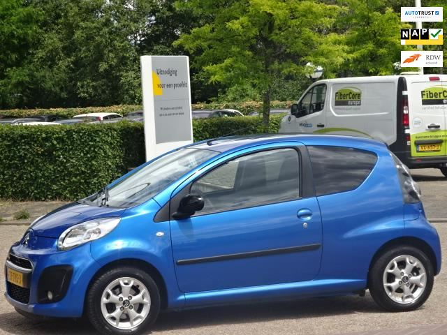 Wonderlijk Citroen C1 - 1.0 First Edition,bj.2012,blauw metallic,airco,NAP GC-42