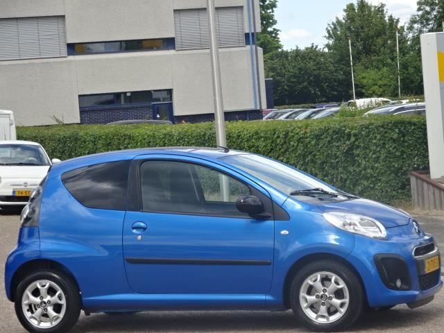 Beste Citroen C1 - 1.0 First Edition,bj.2012,blauw metallic,airco,NAP YH-89