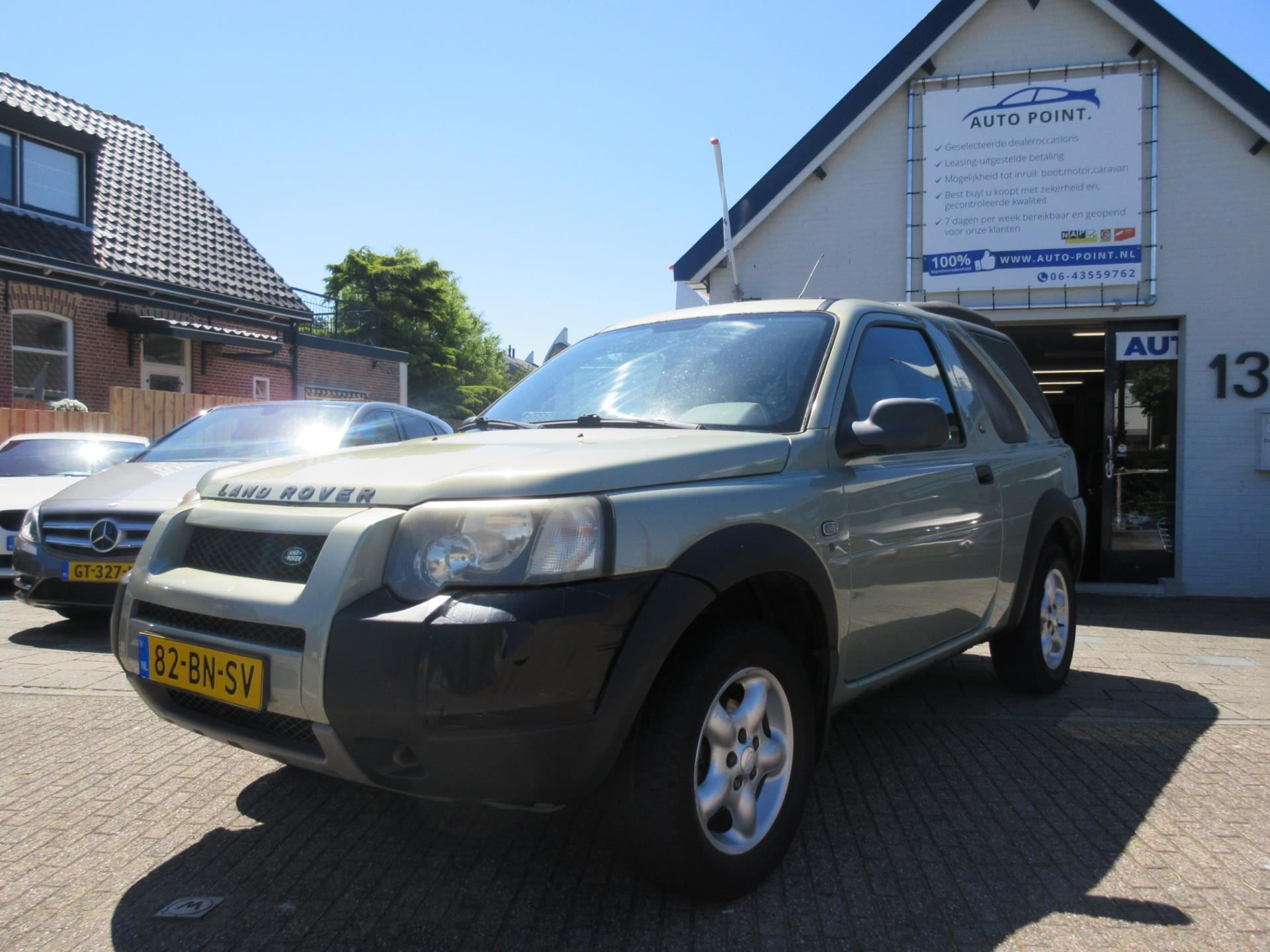 Land Rover Freelander Hardback occasion - Auto Point