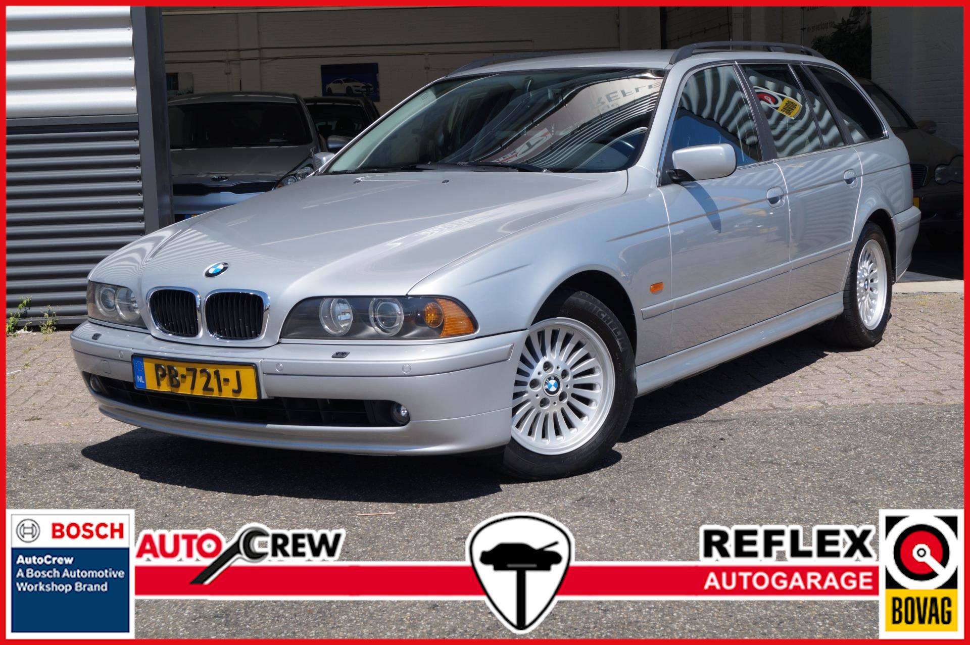 BMW 5-serie Touring occasion - Garage REFLEX