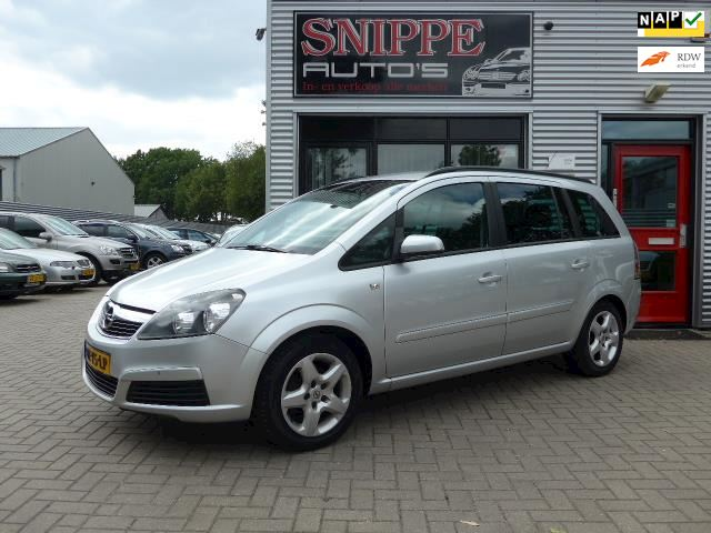 Opel Zafira 1.8 Enjoy -181.990KM-AIRCO-CRUISE-PRIVACYGLASS-TREKHAAK-