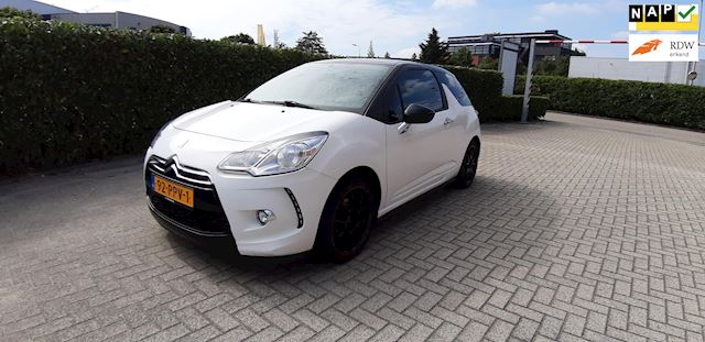 Citroen DS3 1.6 e-HDi So Chic LED 187000km NAP APK Airco NL-auto Cruise Stuntprijs