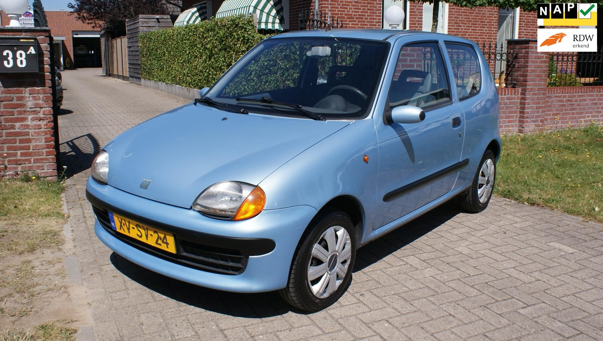 Fiat Seicento occasion - Autoservice Wachtmeester