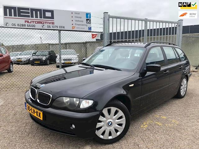 BMW 3-serie Touring 316i Lifestyle Executive *Nieuwe APK*NAP*Airco*Trekhaak