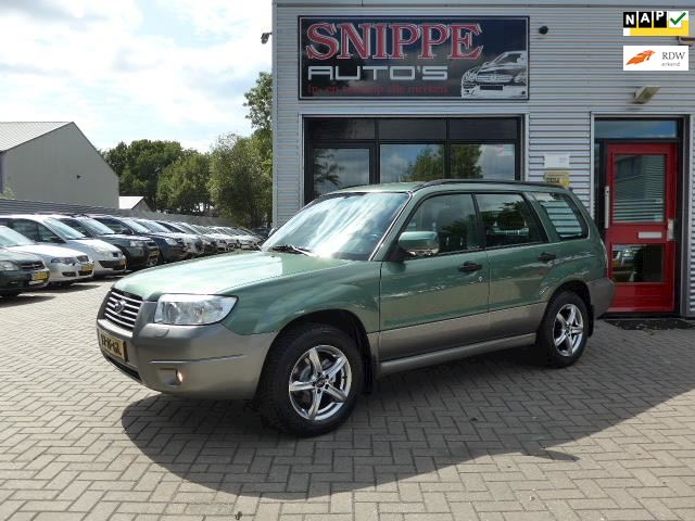Subaru Forester 2.0 X Comfort Pack -LPG G3-AIRCO-CRUISE-TREKHAAK1500KG-AWD-