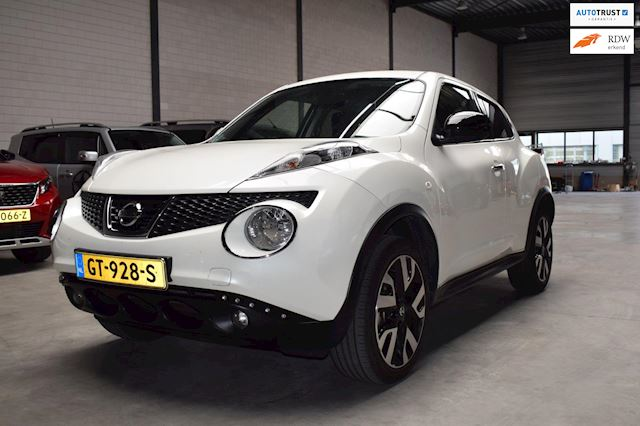 Nissan Juke 1.6 Connect Edition navi camera parelmoer