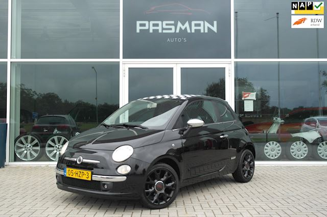 Fiat 500 1.2 Sport Leer, 17LM, Black Optic