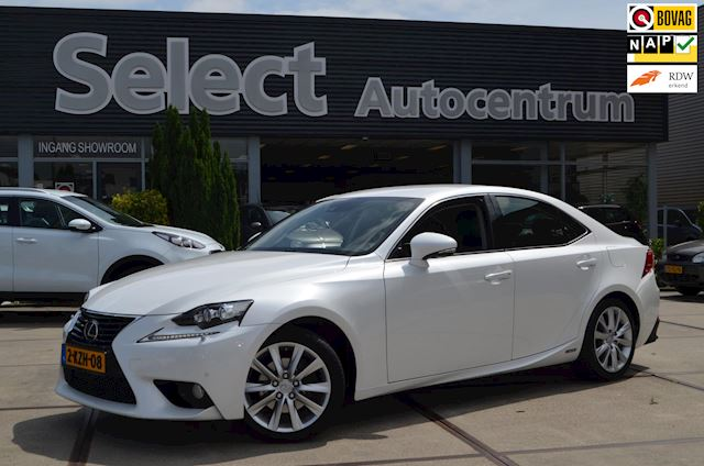 Lexus IS 300h 25th Edition Navi | Leer | Stuur/stoel verwarming | NAP
