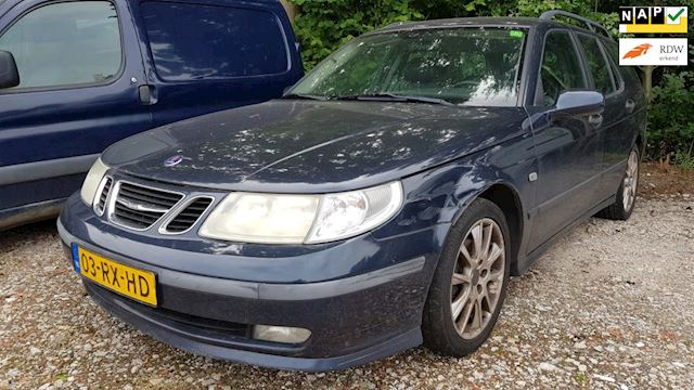 Saab 9-5 Estate 2.3t Linear Business Pack # Tik in motor, rijdt gewoon / APK 20-9-2019 / Export of voor handige harry