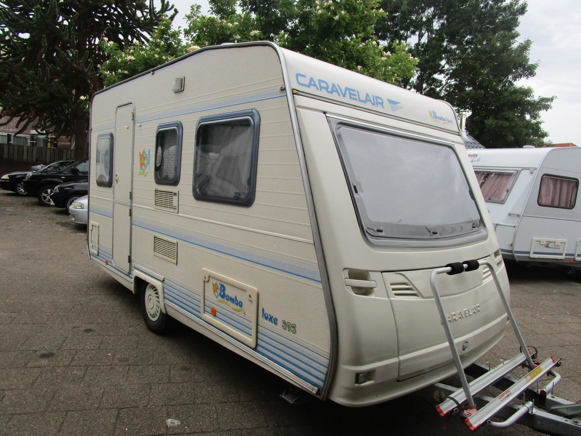 Caravelair 395 Bamba DeLuxe Tv Antenne, Voortent, Luifel, Toilet occasion - Auto Tewes