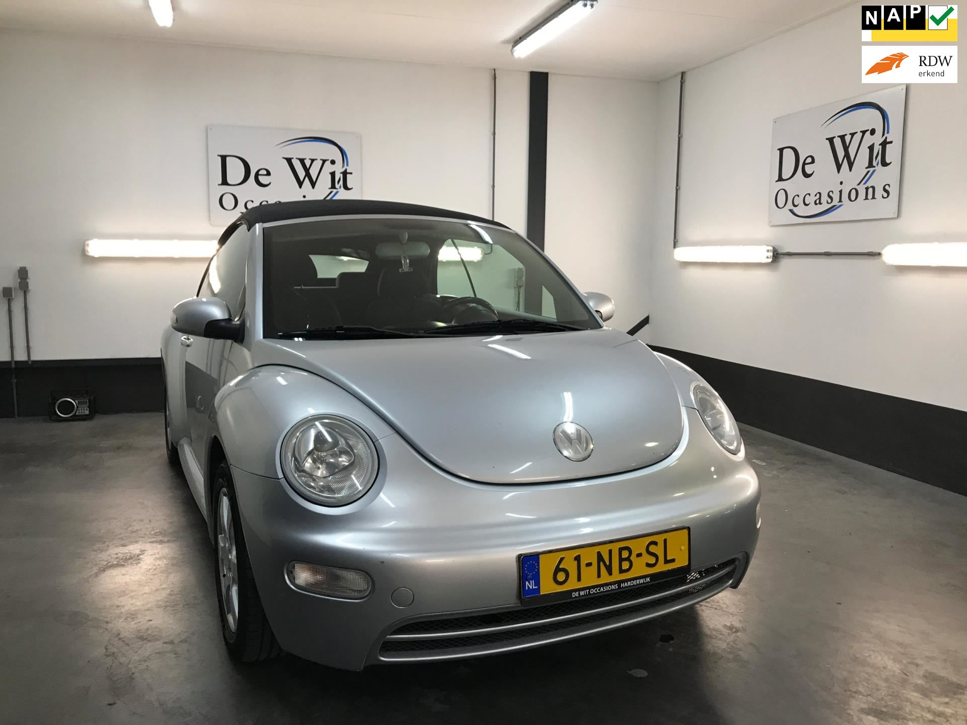 Volkswagen New Beetle Cabriolet occasion - De Wit Occasions