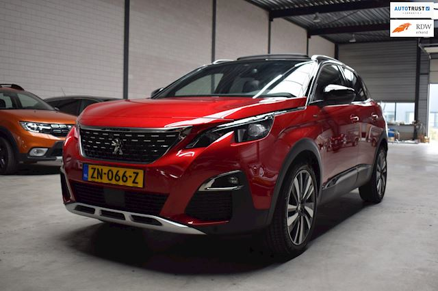 Peugeot 3008 1.6 PureTech GT Line 180 EAT8 alle opties