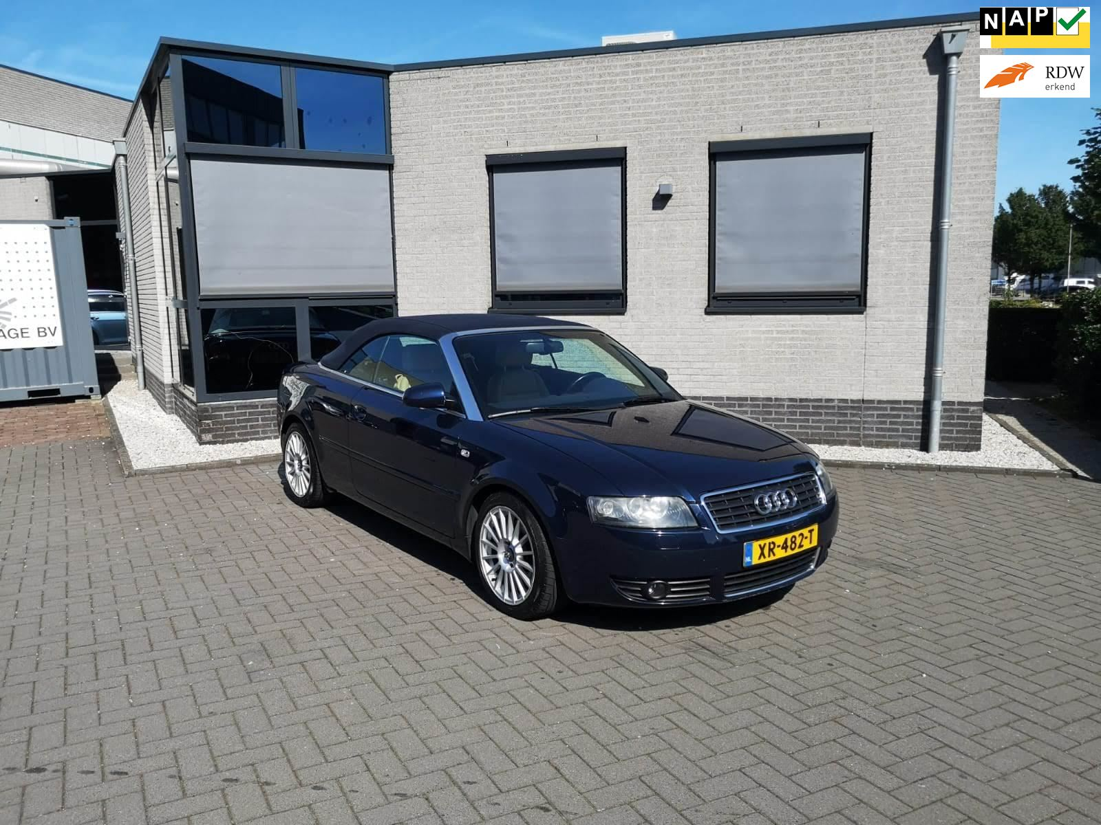 Audi A4 Cabriolet occasion - Polarcars
