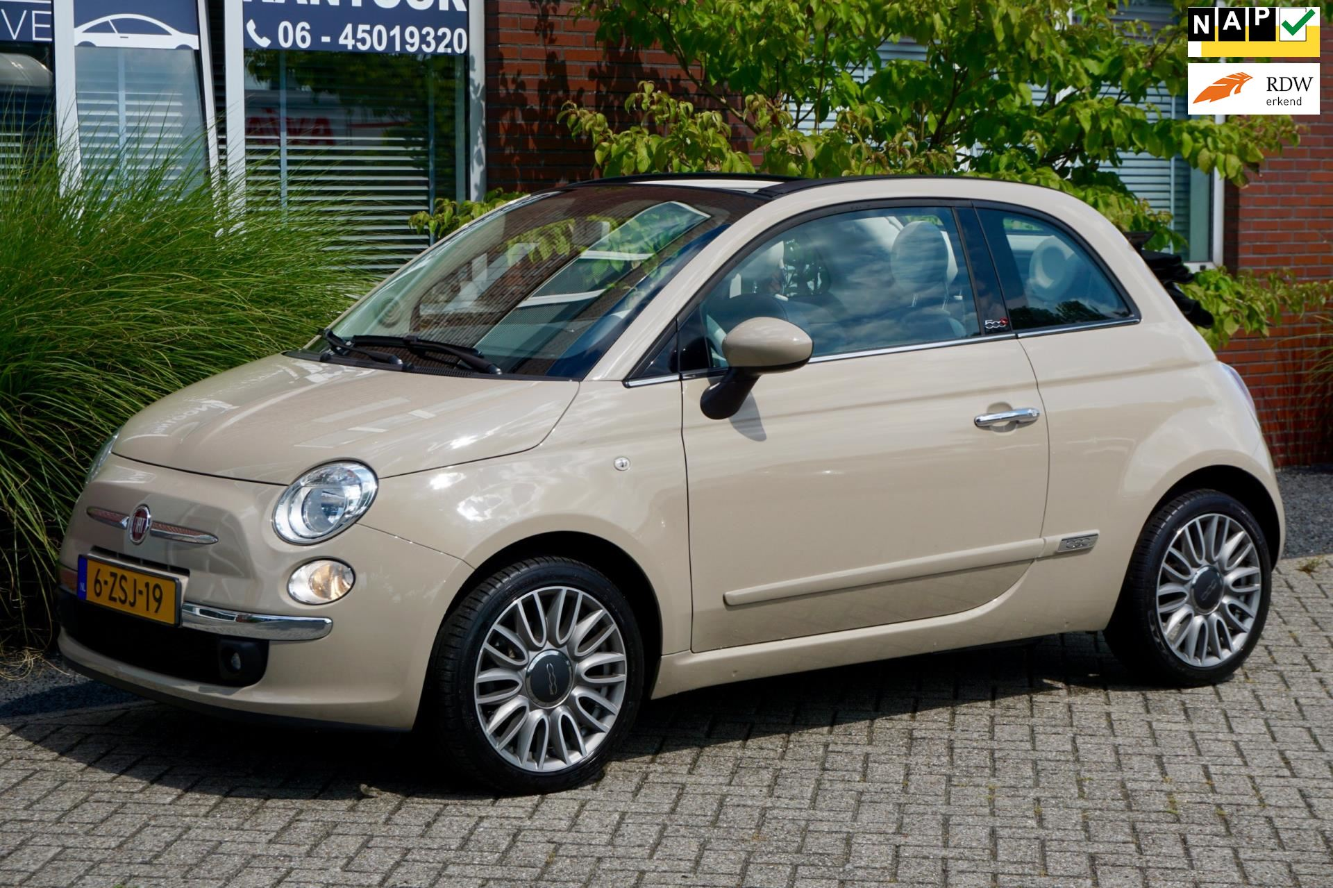 Fiat 500 C occasion - Van Loon Automotive