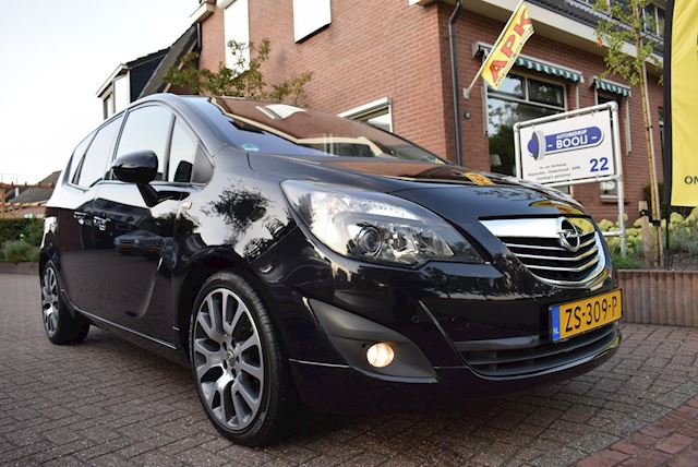 Opel Meriva 1.4 Turbo Cosmo AIRCO/PDC V+A/CRUISE/18 INCH/6 BAK/NETTE STAAT!