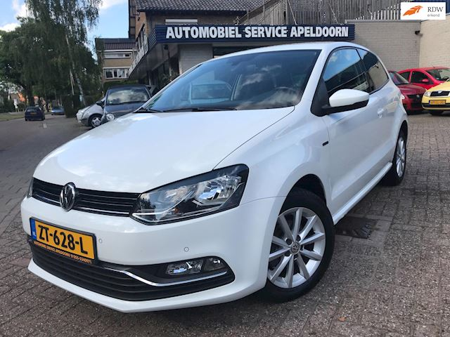 Volkswagen Polo 1.0 First Edition 75PK*LOUNGE *NAV.*AIRCO/CLIMA*PDC*CRUISE CONTR.*LM.VELG*SUPPER NETTE AUTO