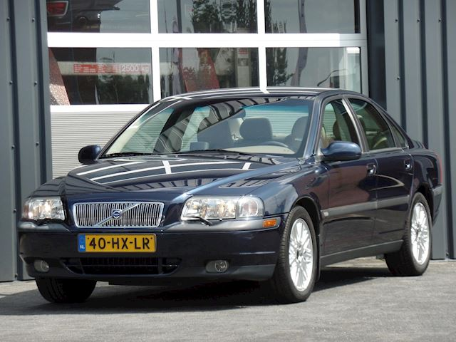 Volvo S80 2.4T Dynamic Automaat Airco Cruisecontrol 2e Eigenaar Youngtimer