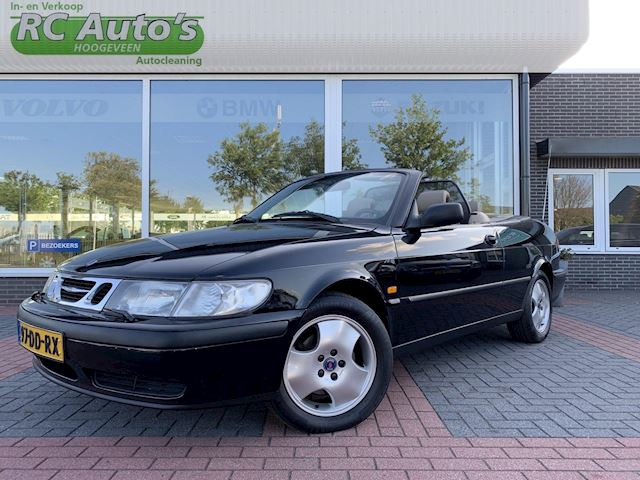 Saab 9-3 Cabrio 2.0t S NIEUWE KAP-YOUNGTIMER