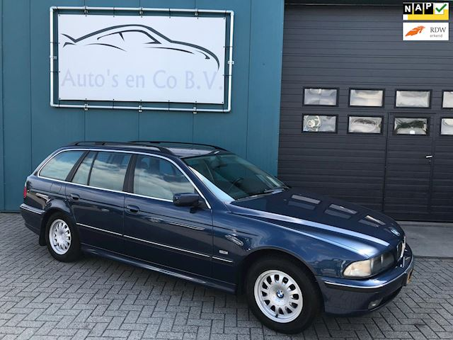 BMW 5-serie Touring 523i Executive Automaat YOUNGTIMER Leder Clima Cruise NL Auto NAP Incl nw Apk 11-2020