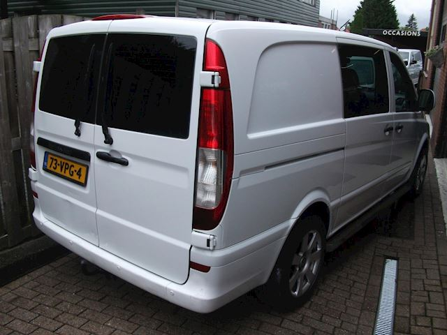 Mercedes-Benz Vito 111 CDI 320 Lang DC luxe airco dubbel cabine automaat
