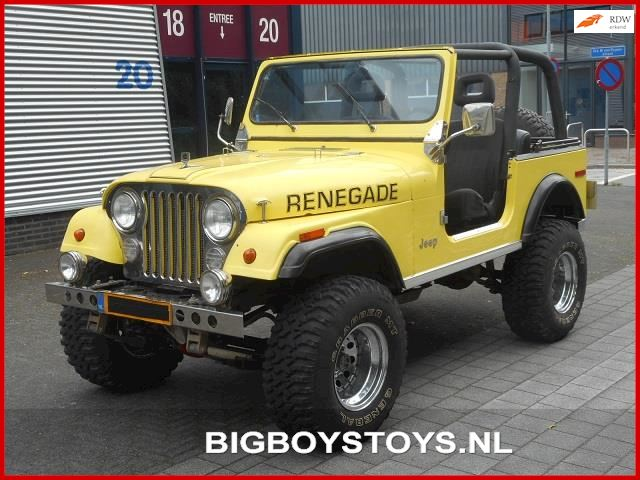 Jeep Renegade CJ7 V8