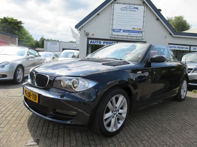 BMW 1-serie Cabrio 118i Executive ?automaat/sportseats/leder/85900km/top uitstraling!