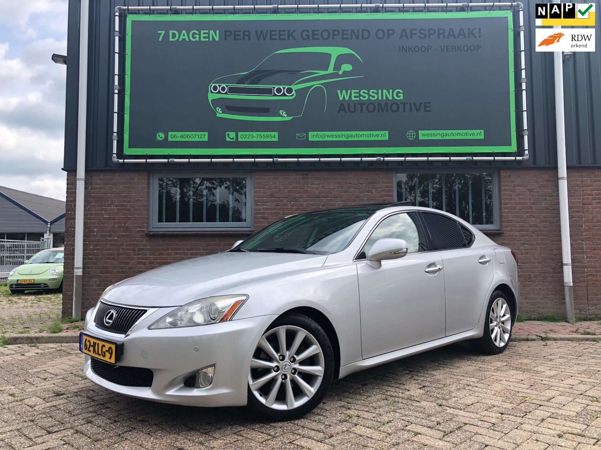 Lexus IS occasion - Wessing Automotive