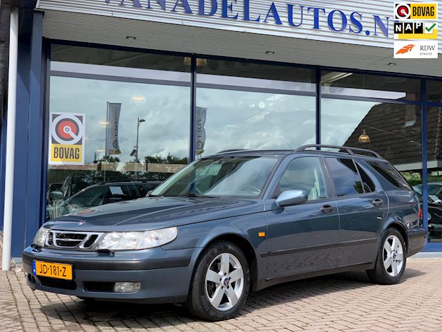 Saab 9-5 Estate 2.3t Linear Business Pack Aut. Leer Clima Cruise PDC Trekhk Dealeronderhouden!