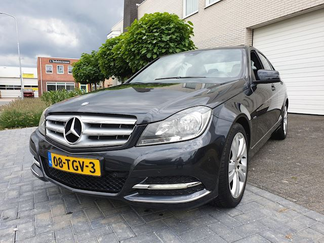 Mercedes-Benz C-klasse 180 Business Class 125! Avantgarde Automaat Leder Navi Open Dak Nieuwstaat