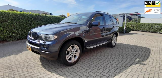 BMW X5 3.0i High Executive Facelift Nieuwe Motor + Bak 231pk Navi Leder Youngtimer
