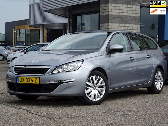 Peugeot 308 SW 1.2 PureTech Blue Lease FULL-MAP NAVI AC TREKHAAK MULTI-STUUR CRUISE-CONTROLE